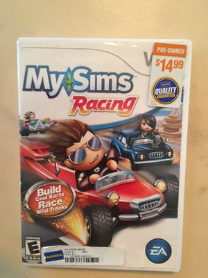 Nintendo Wii my sims racing for Sale in Visalia, CA