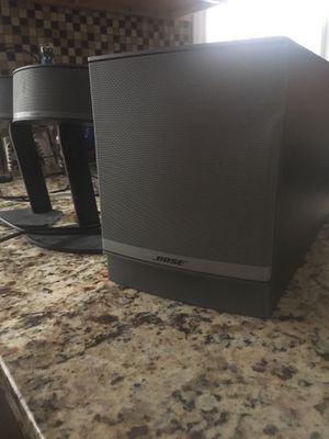 Bose companion 3 speaker set up! for Sale in Chicago, IL