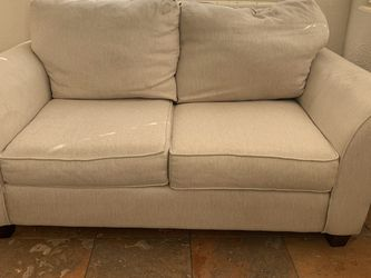 Loveseat Sofa In Linen for Sale in Orlando,  FL