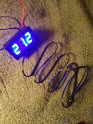 12v C° tempeture guage for car/or? for Sale in Aberdeen, WA