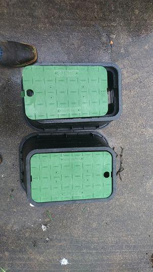 sprinkler valve box for Sale in San Antonio, TX