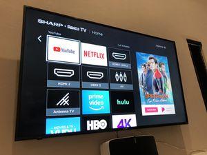 "58"" 4K UHD Class Smart TV with Rocku for Sale in Scottsdale, AZ"