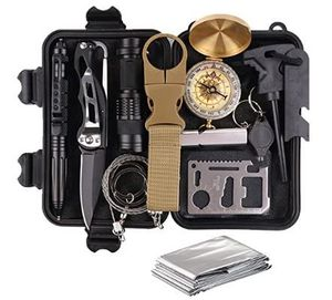 NEW! Survival Gear Kit 13-in-1 for Wilderness/Roadtrip/Hiking/Camping/Hunting/Fishing! for Sale in Frederick, MD