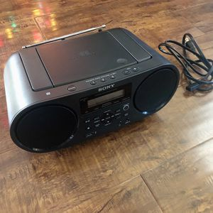 Sony Portable Bluetooth Digital Turner AM/FM CD Player Mega Bass Reflex Stereo Sound System for Sale in West Covina, CA