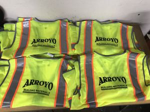 YOUR COMPANY LOGO ON SAFETY VEST for Sale in Los Angeles, CA