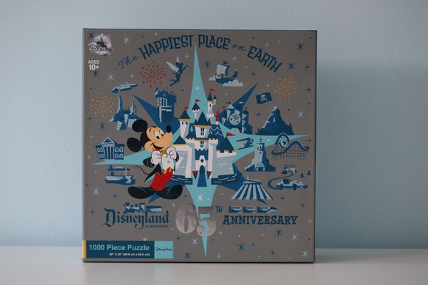 Disneyland Park 65th Anniversary Limited Edition Puzzle