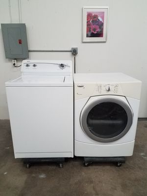 Kenmore Washer And Whirlpool Electric Dryer Set, Great Working👍, Free Delivery Only For First Floor🚀🚚👷‍♂️Free installation👨‍🔧 for Sale in Richardson, TX