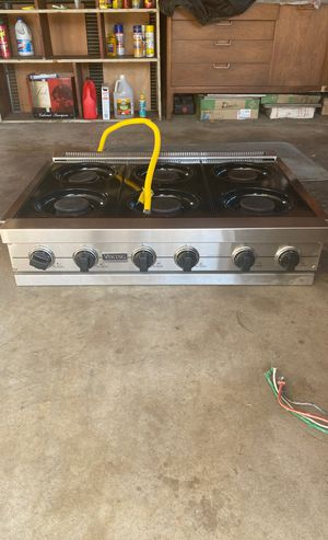 Viking Professional series Appliances 6 burner cook top for Sale in Woodland Hills, CA