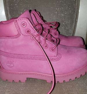 Girls pink Timberland boots for Sale in Rancho Cucamonga, CA