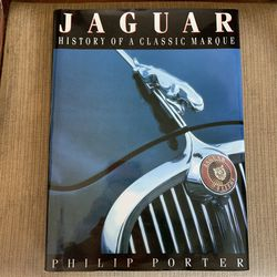 Jaguar A History Of Classic Marque Hard Cover Book for Sale in Yonkers, NY