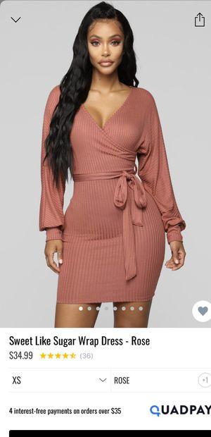 Fashion Nova Dress - Rose Size M for Sale in Highland, CA