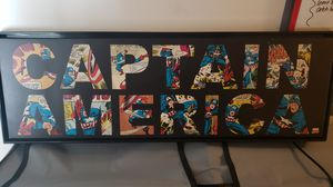 Captain America Wall Art for Sale in Grove City, OH