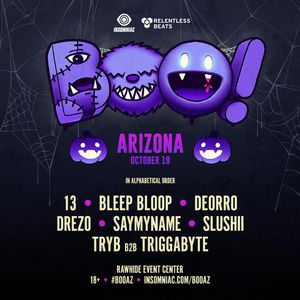 Boo ticket for Sale in Tempe, AZ