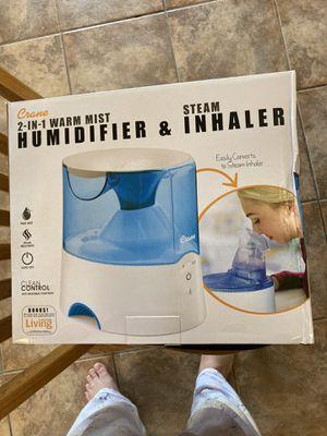 Warm Mist Humidifier with Steam Inhaler for Sale in Mesa, AZ