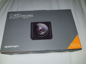 APEMAN Dash Cam Dual Lens Front and Rear with Night Vision 1080P for Sale in Dallas, TX