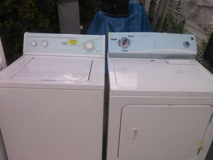 Washer and electric dryer for Sale in Detroit, MI