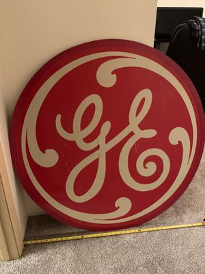 Old Barn Find! GE Business sign. Possibly a GE appliance company sign. for Sale in Spokane Valley, WA