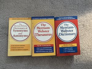 Dictionary, Thesaurus, and Synonyms / Antonyms for Sale in Chicago, IL