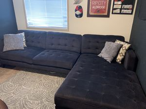 Sofa with chaise lounge for Sale in Vancouver, WA