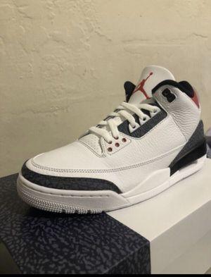 "Air Jordan retro 3 SE ""Denim"" size 10 for Sale in Miami, FL"