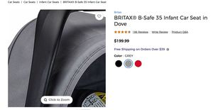 Britain B-Safe infant seat for Sale in Queens, NY