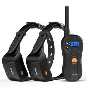 New ieGeek Dog Training Shock Collar for 2 Dogs - Rechargeable and Waterproof - 1960ft Blind Operation Remote Controlled Electric Collar with Tone/Vi for Sale in Brooklyn, NY