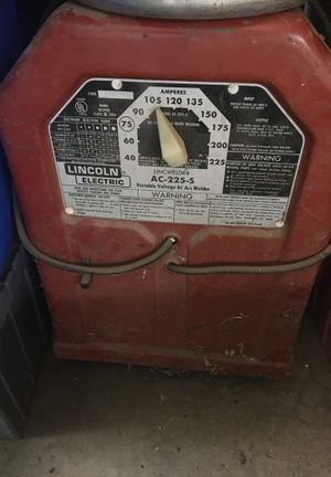 Lincoln electric welder, 220 stick feed firm for Sale in Bakersfield, CA