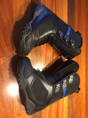 Sims snowboard boots children's 3 for Sale in Harrisonburg, VA