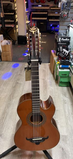 Bajo quinto brand new acoustic electric guitar for Sale in Santa Ana, CA
