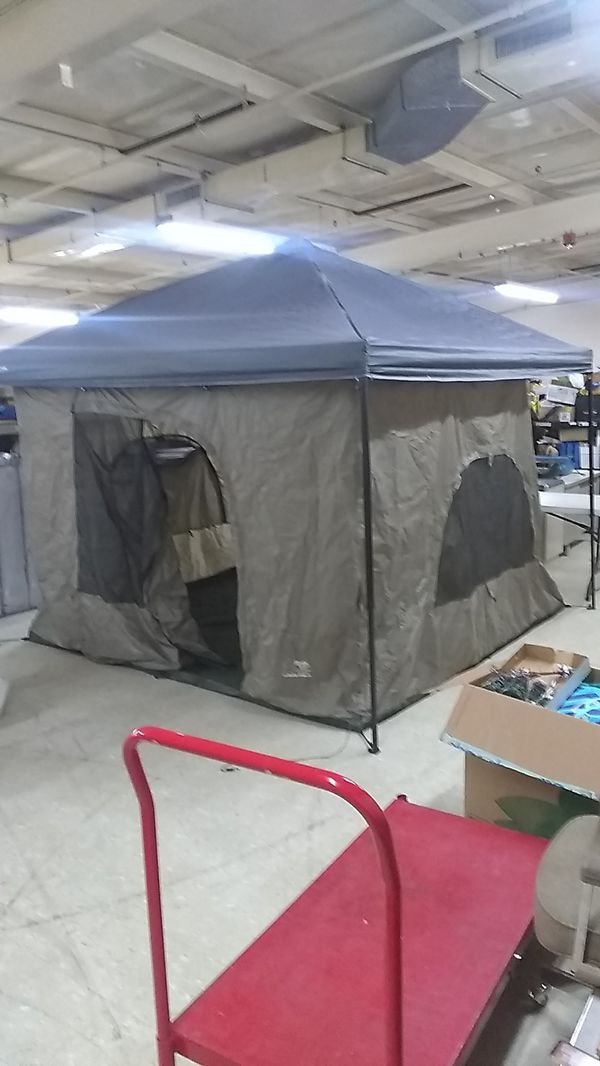 Framing A 10x10 Room: Standing Room 10x10 Tent (hangs From 10x10 Canopy) For