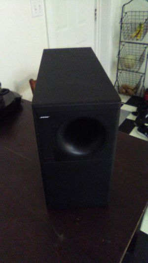 Bose acoustimass speaker for Sale in House Springs, MO