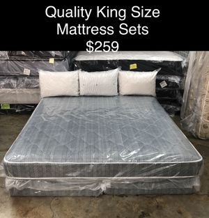 Quality King Size Mattress Sets (New) Financing & Same Day Delivery Available for Sale in Atlanta, GA