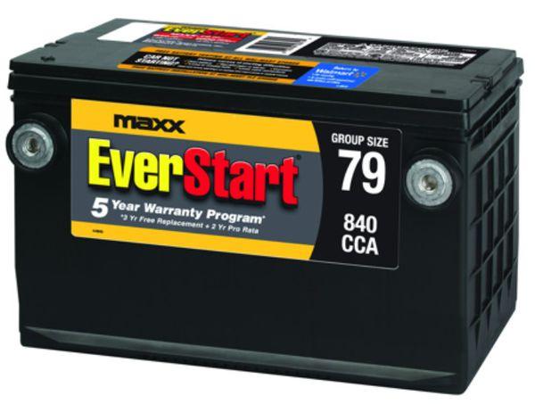 BRAND NEW Car Battery Everstart Maxx Group 79