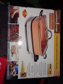 "Copper Chef 12"" 3in1 Electric Skillet for Sale in Denver,  CO"