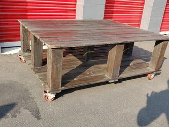 Coffee Table Real Wood $90. Was $499 for Sale in Los Angeles,  CA