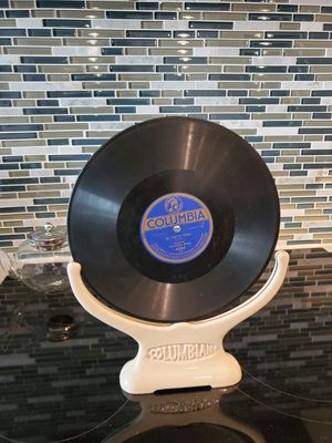 Antique Columbian Porcelain Store Display Record? for Sale in Silver Spring, MD