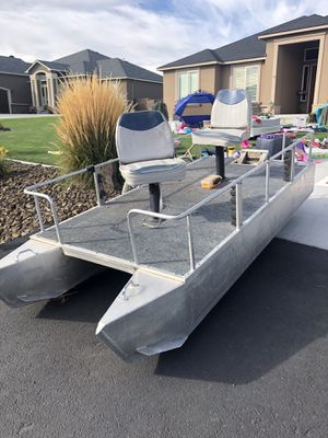 Aluminum 2 person pontoon boat for Sale in Richland, WA