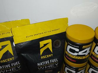 Ascent Native Whey Protein & C4 Sport Pre-Workout for Sale in Seattle,  WA