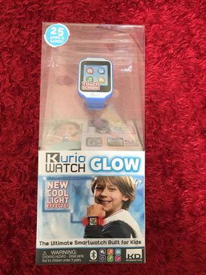 """""""KURIO"""" 25 APPS & GAMES❗️COOL LIGHT EFFECTTS❗️THE ULTÍMATE SMARTWATCH BUILD for KIDS❗️ for Sale in Apple Valley, CA"""