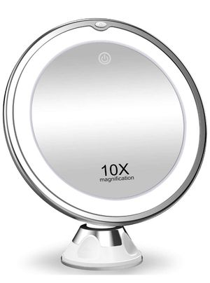 10X Magnifying LED Lighted Makeup Vanity Mirror. for Sale in San Antonio, TX