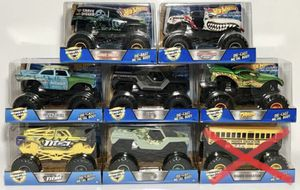 Hot Wheels Monster Jam Monster Trucks Big 1/24 Scale New for Sale in Tacoma, WA