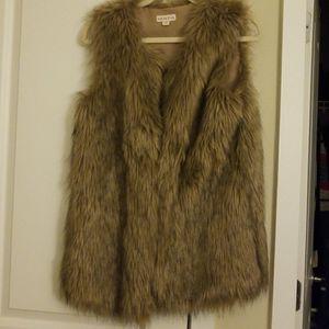 Faux fur vest for Sale in West McLean, VA