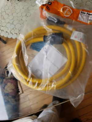 Conntek 30 amp.10ft generater cord for Sale in Concord, CA