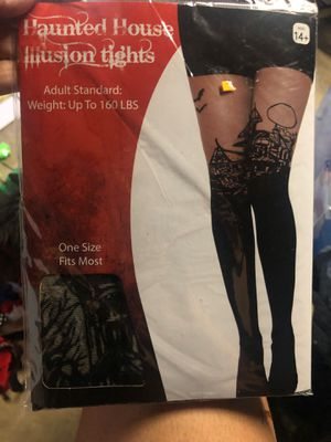 Haunted house Halloween leg tights brand new! for Sale in Pomona, CA