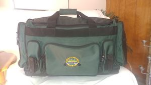 Cabelas large multi pocket durable and water proff duffle bag for Sale in Westminster, CO