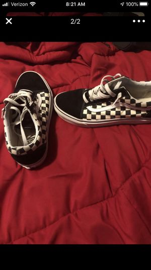 Mint checkered vans for Sale in Greer, SC