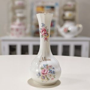 "Polly - Anna ""Mum"" Something To Be Glad About Fine Bone China Globe Bud Vase for Sale in Chandler, AZ"