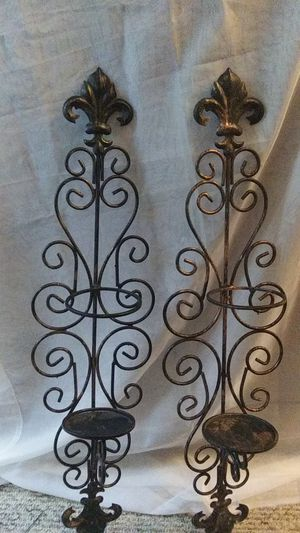 Decorative Candle Wall Sconces for Sale in New Caney, TX