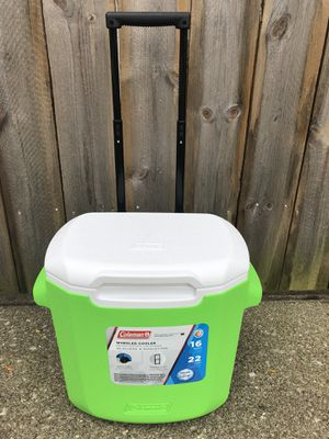 Rolling Coleman cooler new for Sale in Dublin, OH