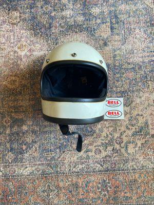 Vintage bell motorcycle helmet for Sale in Los Angeles, CA